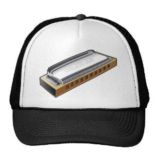 Blues Harmonica - Hat