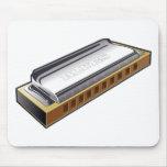 Blues Harmonica - Mousepad