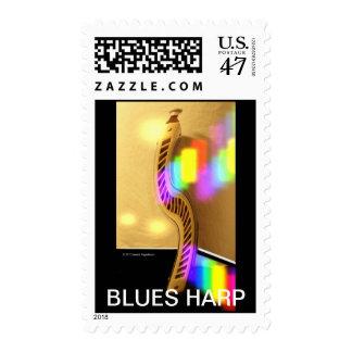 BLUES HARP POSTAGE