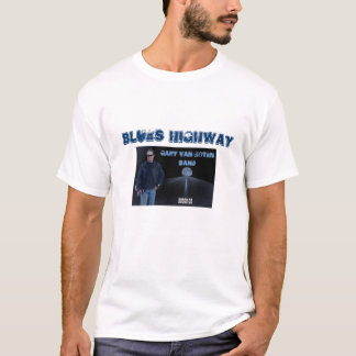 Blues Highway Route 66 W T-Shirt