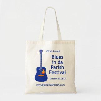 Blues in da Parish Festival Tote Bag