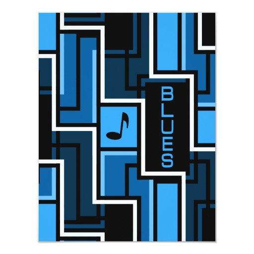 Blues Invitation - customize
