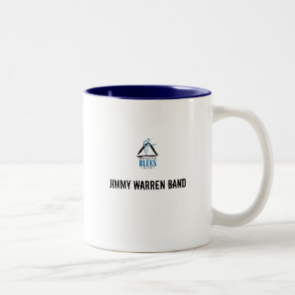 blues, Jimmy Warren Band Two-Tone Coffee Mug