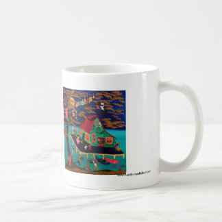 Blue's Juke Joint Classic White Coffee Mug