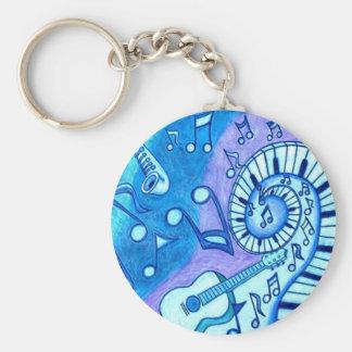 Blues Keychain