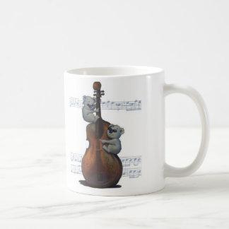 """Blues Koalas"" by Suzi German Classic White Coffee Mug"