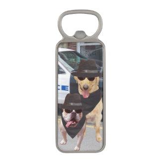 Blues Lab and Bull Dog Man Cave bottle opener Magnetic Bottle Opener