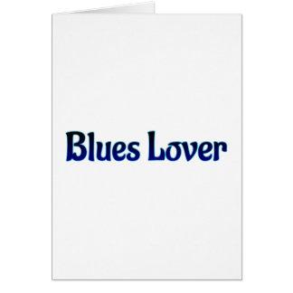 Blues Lover Card