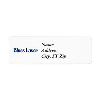 Blues Lover Label