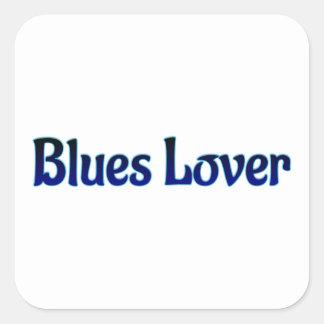 Blues Lover Square Sticker