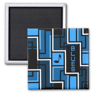 Blues magnet
