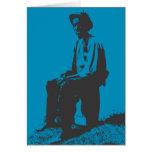 Blues Man Card