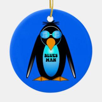 blues man christmas ornaments