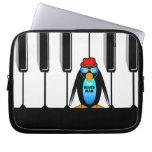 blues man piano laptop sleeve