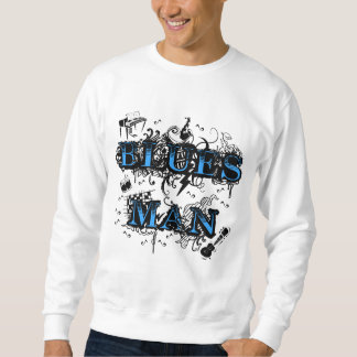 Blues man sweatshirt