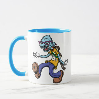 Blues Man Walking Mug