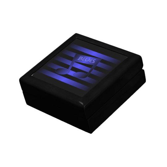 blues music jewelry box