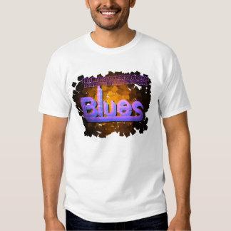 Blues Music Men´s T-Shirt White