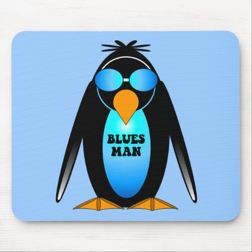 blues music mouse pad