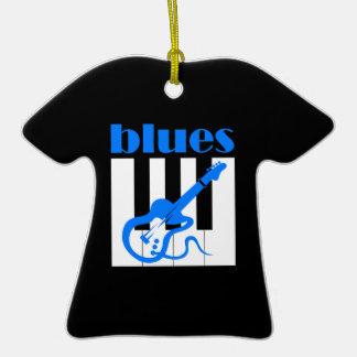 blues music ornament
