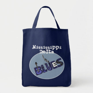 Blues Music Tote Bag