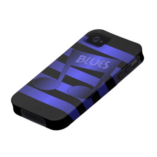 blues music vibe iPhone 4 covers