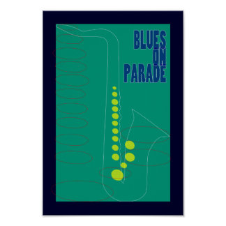 Blues on Parade Poster