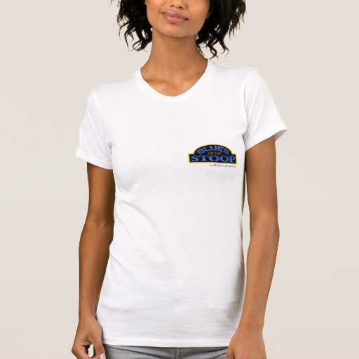 Blues On The Stoop ladies tee with country stoop l