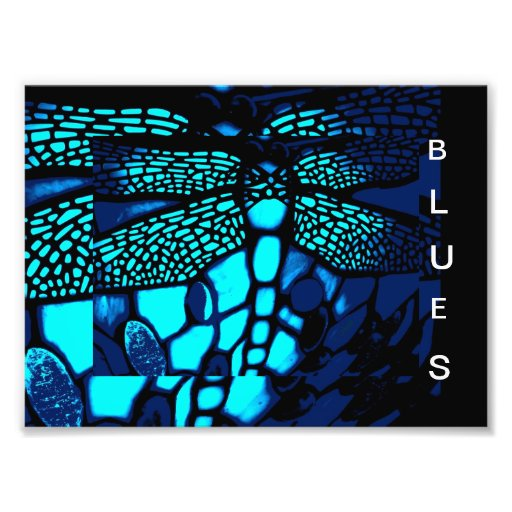 blues art photo