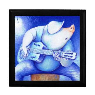 Blues Pig Guitarist Gift Box