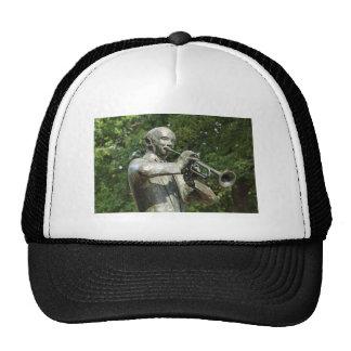 Blues Player Statue Trucker Hat