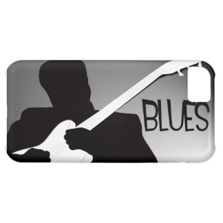 Blues player's silhouette with a spotlight cover for iPhone 5C