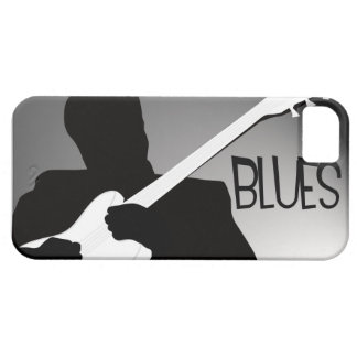Blues player's silhouette with a spotlight iPhone SE/5/5s case