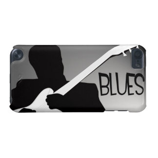 Blues player's silhouette with a spotlight iPod touch (5th generation) cover