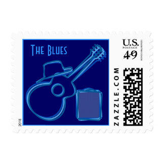 Blues Postage Stamps