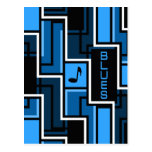 Blues postcard - customize