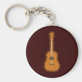 Blues Powered Key Chains