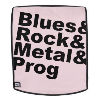 Blues&Rock&Metal&Prog (blk) Backpack