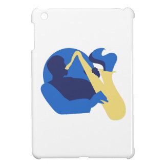 Blues Sax iPad Mini Cases