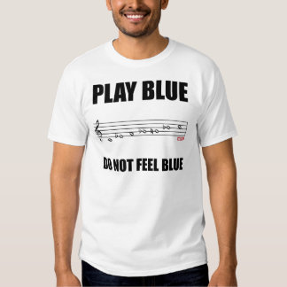 Blues Scale Note - Customized T-Shirt