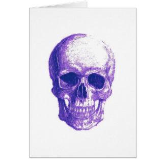 Blues skull cards