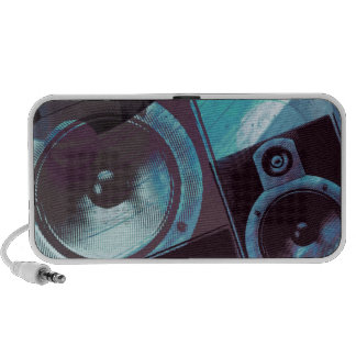 blues split speakers