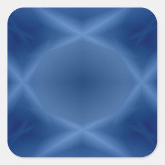 Blues Square Sticker