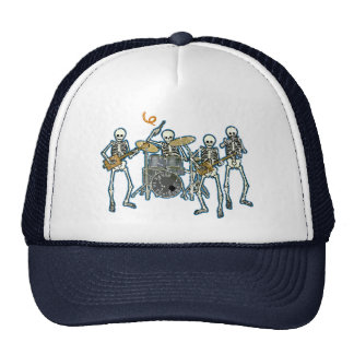 Blues To The Bone! Mesh Hats