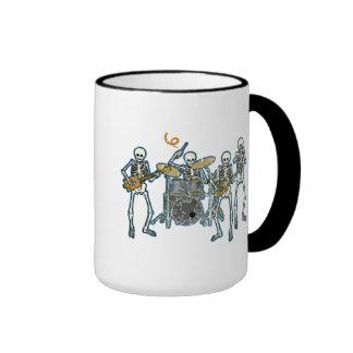 Blues To The Bone! Ringer Coffee Mug