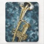 Blues Trumpet Mouse Pad