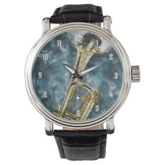 Blues Trumpet Wrist Watch