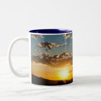 Blues Win Out Sunrise Mug