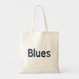 Blues word denim texture musician image.png budget tote bag