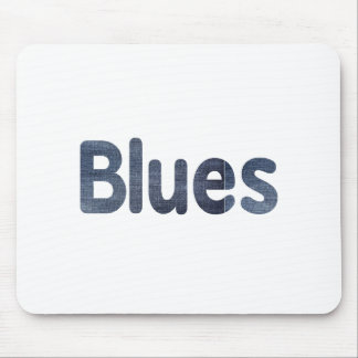 Blues word denim texture musician image.png mouse pad